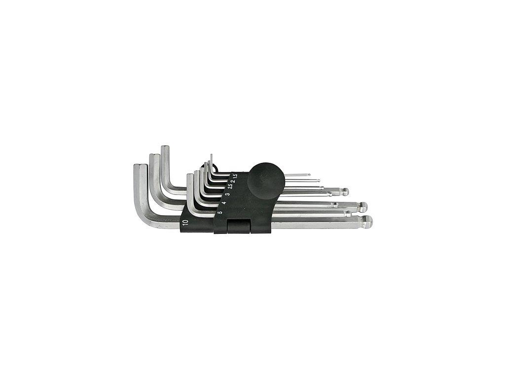 Sada kľúčov Strend Pro HK0045, 9 dielna, Hex, zástrčná, Imbus s guličkou