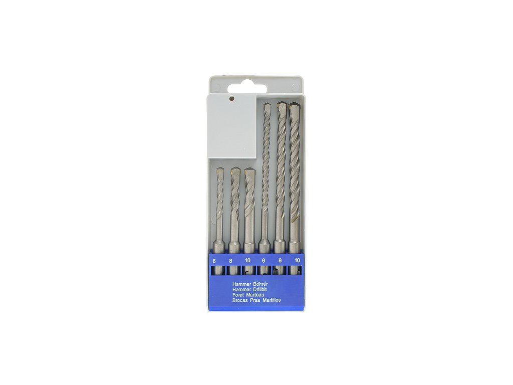 Sada vrtákov Strend Pro SD059, 6 dielna, 6-10 mm, SDS+