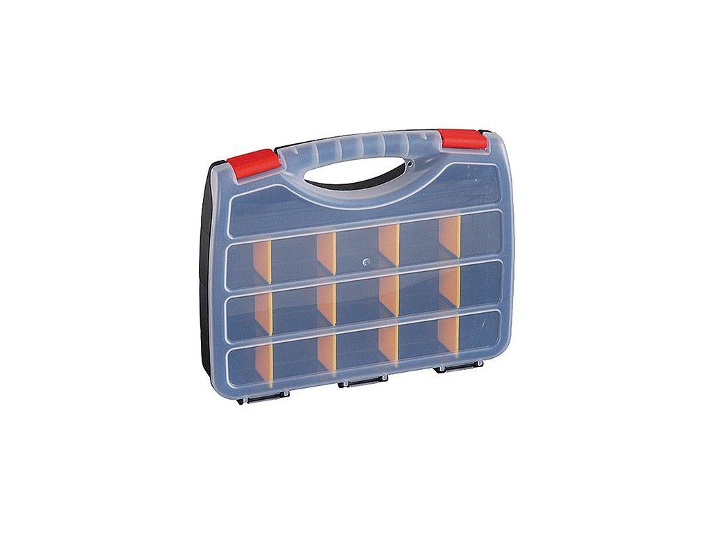 Kufríkový organizér HL30123, 31.5x25.5x5.5 cm, max. 7 kg, 15 priečok