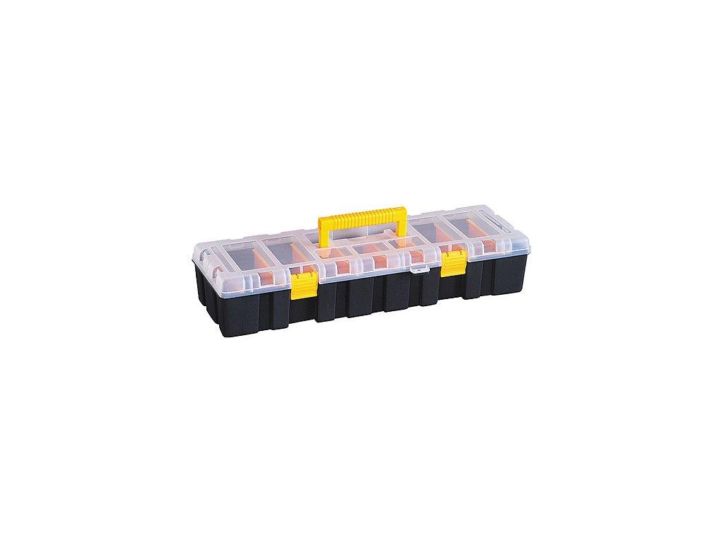 Kufríkový organizér HL30131, 46x17x9.5 cm, max. 9 kg, 9 priečok