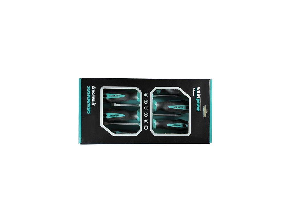 Sada skrutkovačov Whirlpower® 171-0506, 6 dielna, Ergonomic