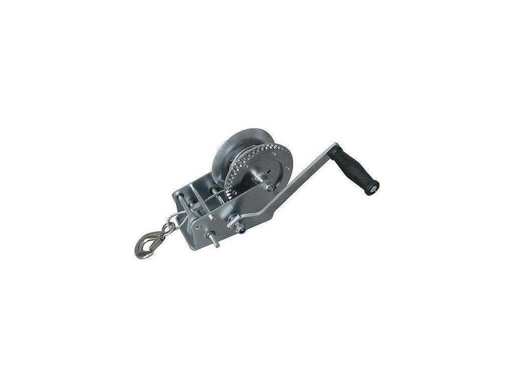 Naviják Strend Pro HW-100-400, račňový, ručný, lano 8 m, 4.5 mm, max. 400 kg