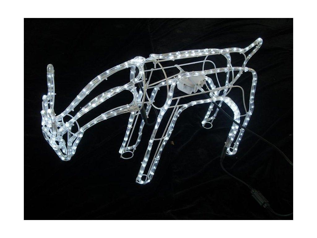 Dekorácia MagicHome Vianoce, Sob, 216 LED studená biela, s otočnou sklonenou hlavou, 230 V, 50 Hz, I