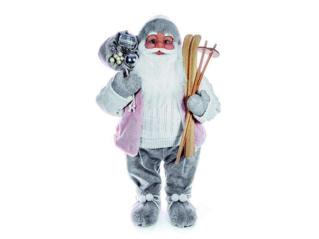 Dekorácia MagicHome Vianoce, Santa, 46 cm