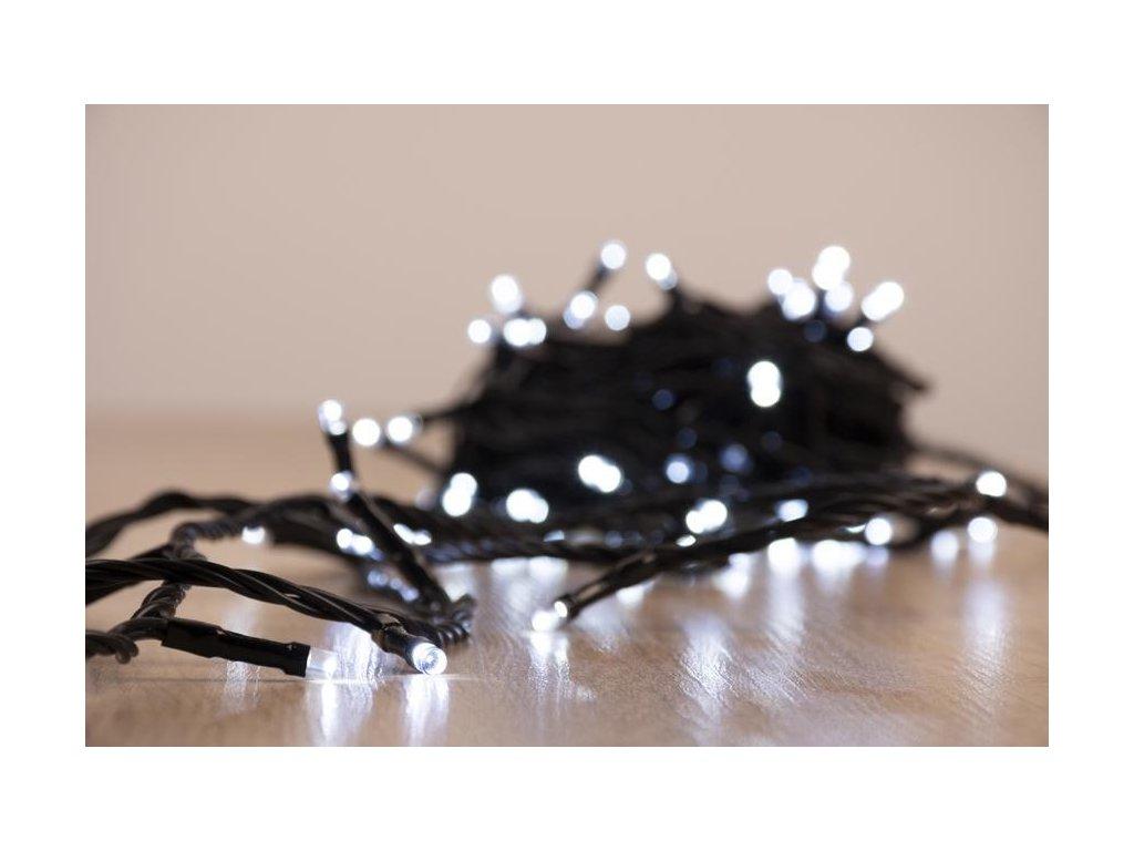 Reťaz MagicHome Vianoce Multi-Connect Star line, 120 LED studená biela, jednoduché svietenie, 230 V,