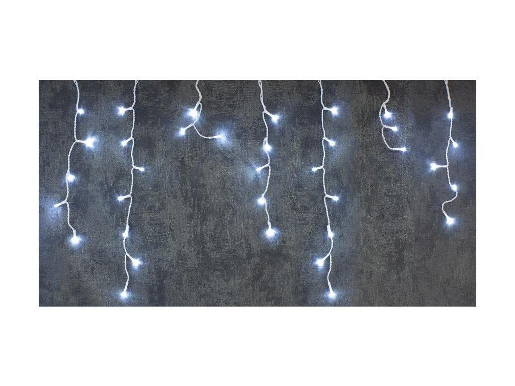 Reťaz MagicHome Vianoce Icicle, 800 LED studená biela, cencúľová, jednoduché svietenie, 230 V, 50 Hz