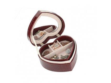 szkatulka pudelko kuferek serce na bizuterie bordo pd69bor (5)