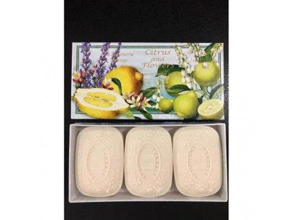 sa fiorentino talianske prirodne tuhe mydlo ruza 3 x 100 g (1)