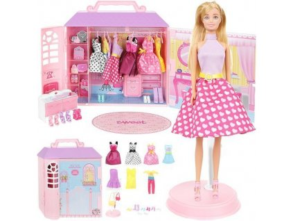 pol pl Domek z ubrankami lalka 14914 11