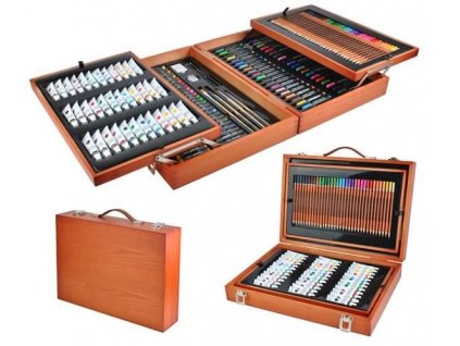 cze pl Malset kufr mega set 174 polozek v kufru Artist Painter Kreativni umeni 6004 13059 1 (1)