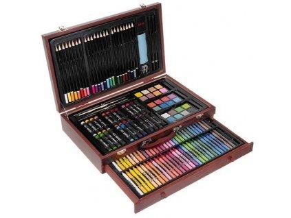 cze pl Sada malirskych kufriku 142 jednotlivych dilu v kufriku malir vytvarnik 15611 15254 4