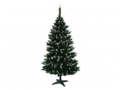 Borovica zasnežená so šiškami 220 cm