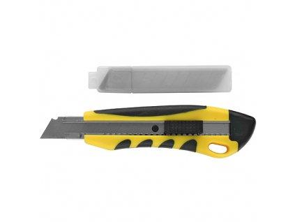 Nôž Strend Pro UK888+1A, 18 mm, odlamovací, + 10 ks čepelí