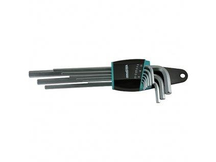 Sada kľúčov Whirlpower® 158-0109, 9 dielna, predĺžená, Hex, ExtraLong, Imbus