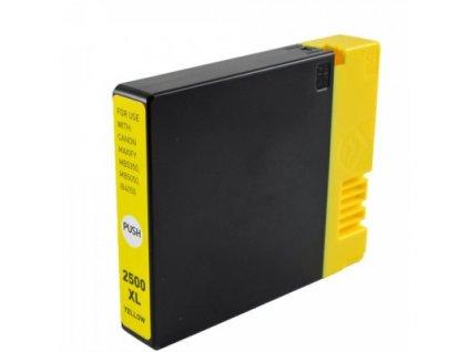 canon pgi 2500xl y zluta yellow pgi 2500y 9267b001 kompatibilni inkoustova napln cartridge pro maxify ib4050 mb5030