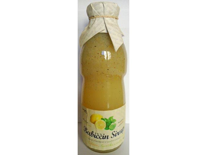 Nature NoTea Babiččin sirup Citron, limetka a máta 500 ml