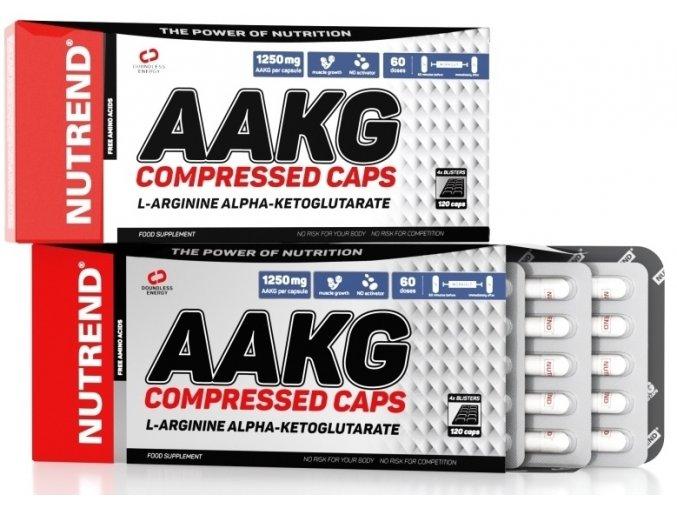 Nutrend AAKG Compressed 120 kapslí