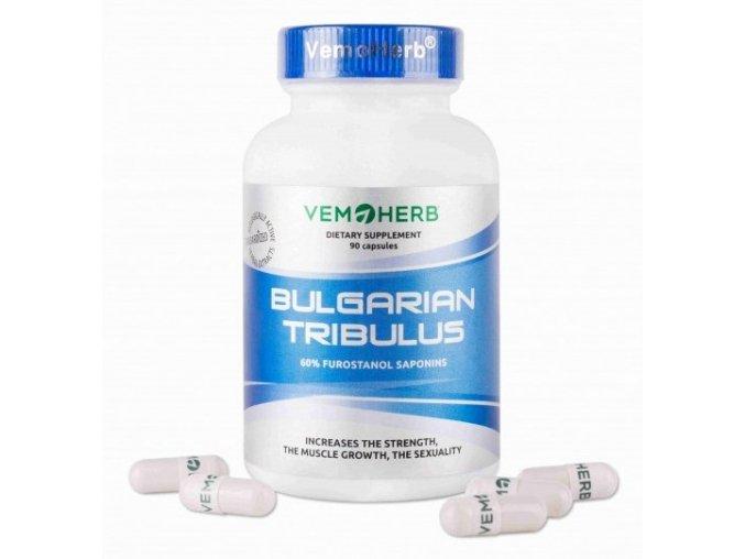 VemoHerb Bulgarian Tribulus 90 kapslí