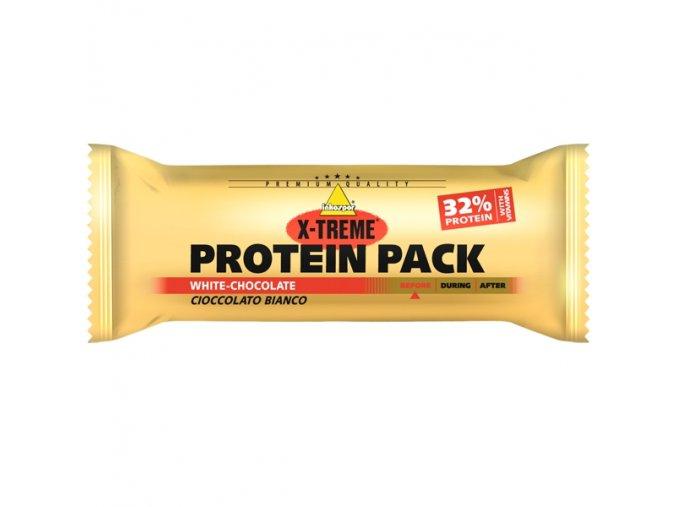 Inkospor X-TREME Protein Pack bílá čokoláda 35 g