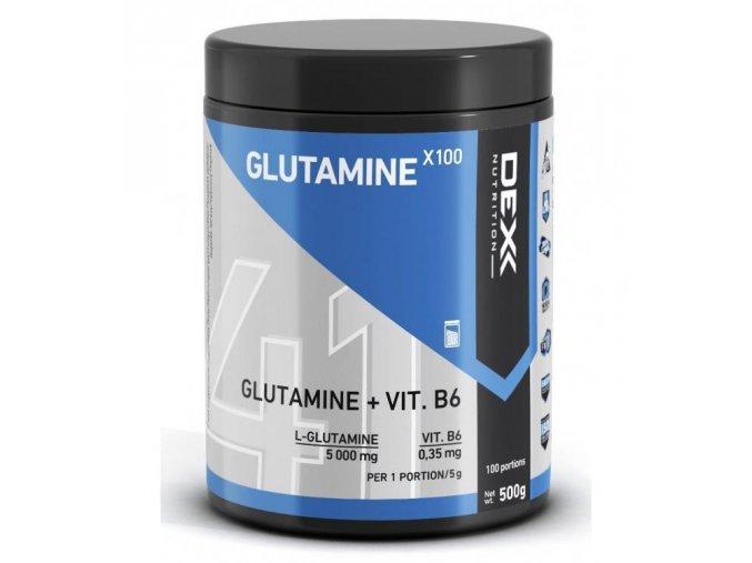 dex nutrition glutamine x100 500g