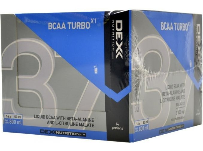 dex nutrition bcaa turbo 16x50ml