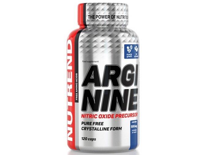 Nutrend Arginine 120 kapslí (exp. 1/2019)
