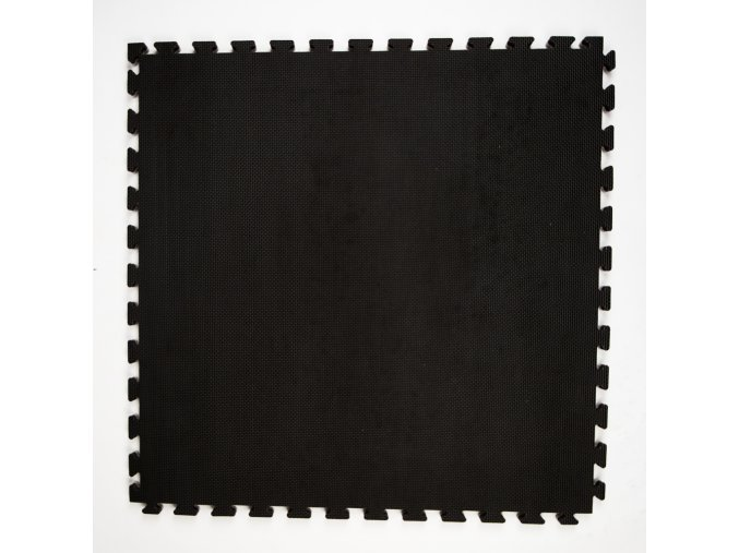 podlaha tatami puzzle 100x100x2 5cm cerna