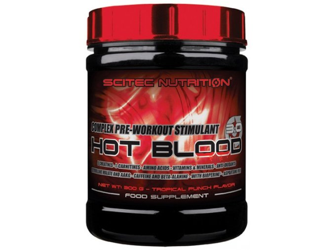 scitec nutrition hot blood