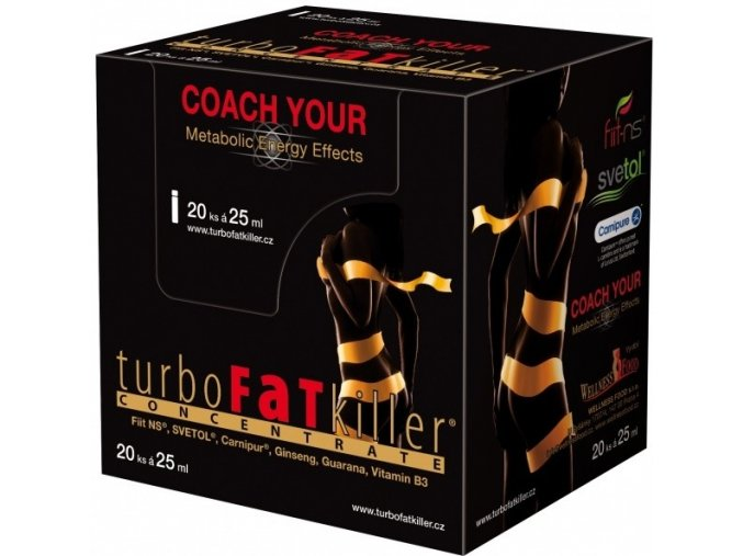 WELLNESS FOOD Turbo Fat Killer 20 x 25ml