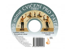 DVD 40 minut pro páteř