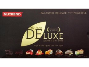 Nutrend Deluxe Protein Bar 8x60g dárkové balení