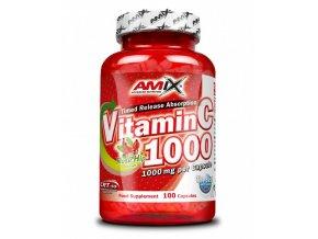 Amix Vitamin C 1000 mg 100 kapslí