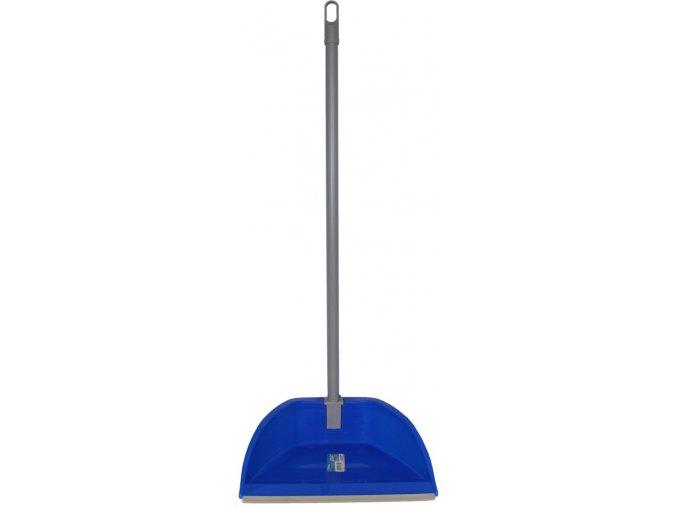 MARIS BLU - sklopná lopatka s gumovou lištou a dlouhou rukojetí