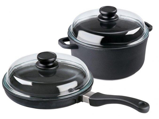 RETRO sada titanové nádobí PRO 243 + PRO 201