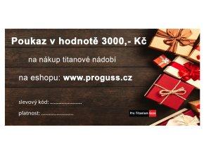 POUKAZ 3000