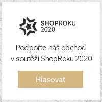 Hlasovat v Ceně Popularity Shop Roku 2020 v kategorii GALANTERIE - Děkujeme za podporu