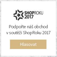 Heureka  Hlasovat v ceně popularity Shop Roku 2017  v kategorii GALANTERIE
