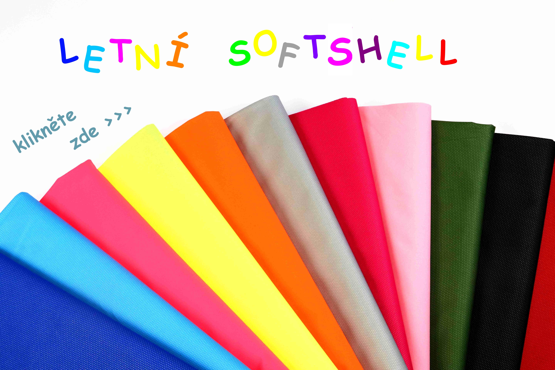 Letní softshell
