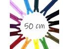 Spirálové zipy dělitelné 50 cm