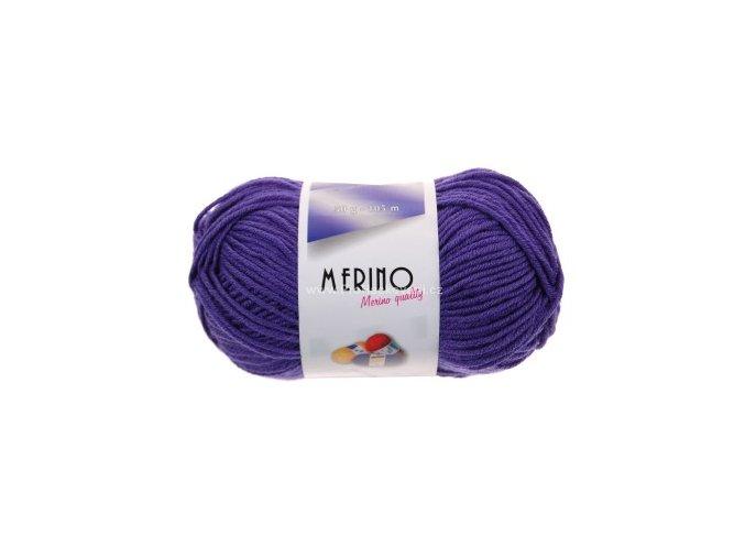 příze Merino 14803 fialová