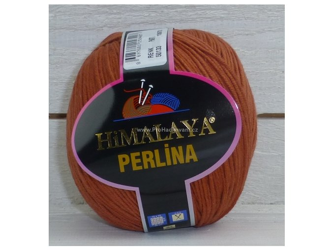 příze Perlina 50133 rezavá