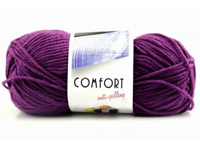 příze Comfort 53155 fialová