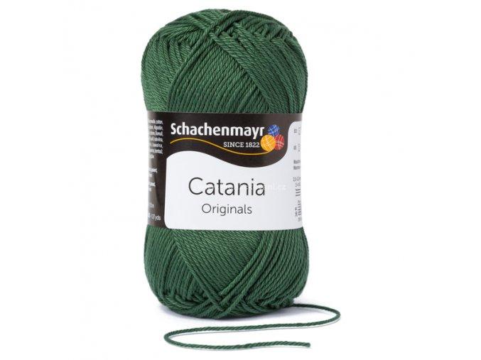 Příze Catania 419 lesní zelená