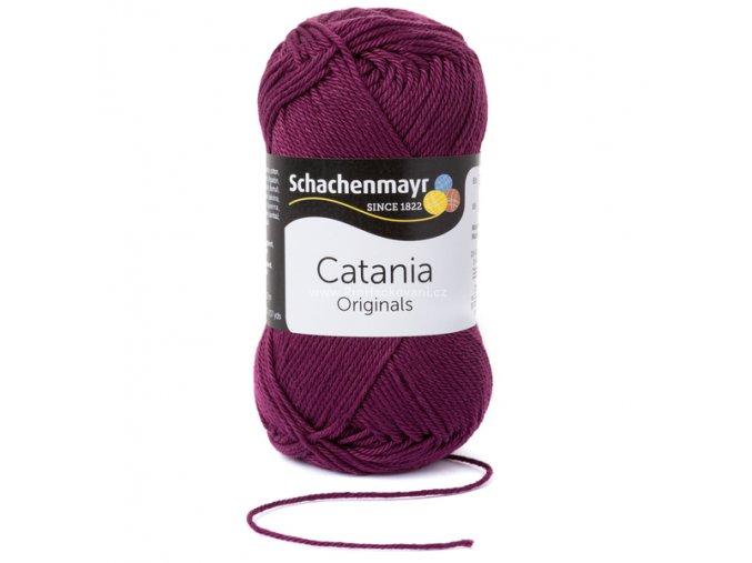 Příze Catania 394 vínově fialová