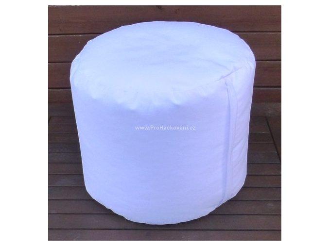 Vnitřní vak do pufu 38x30 cm bílý