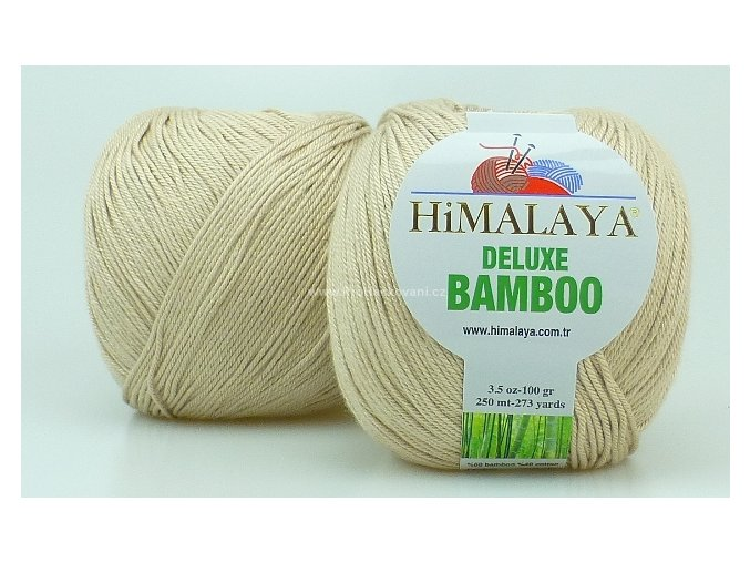 příze DeLuxe Bamboo 124-21 béžová