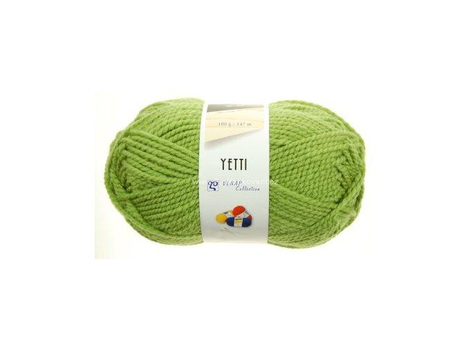 příze Yetti 52420 zelená
