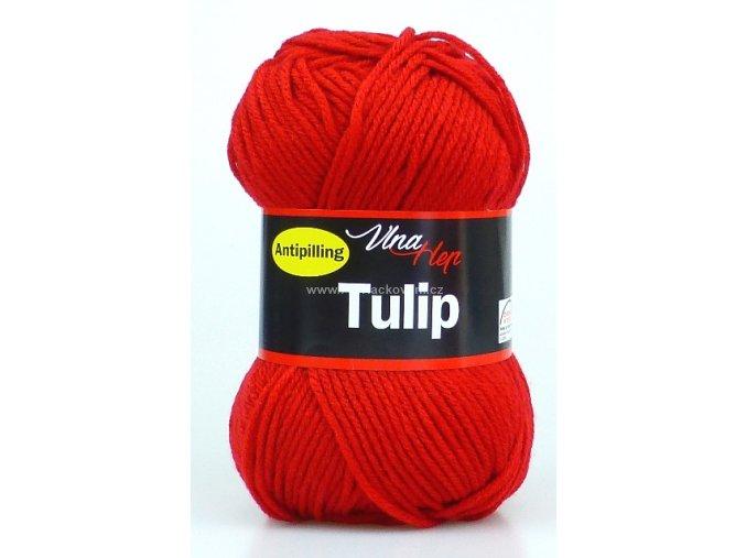 příze Tulip 4019 červená
