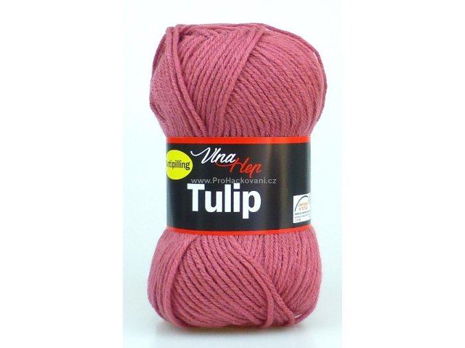 příze Tulip 4430 matná malinová