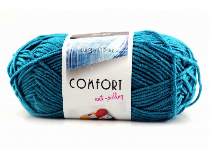 příze Comfort 54777 tyrkys